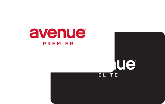 Avenue credit card image