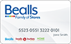 Bealls Florida  logo card