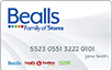 Bealls Outlet logo card