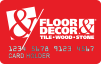 Floor & Decor logo card