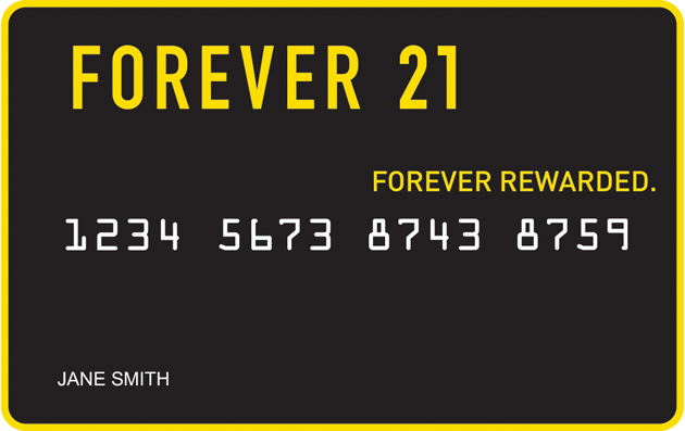 Forever 21 Credit Card image