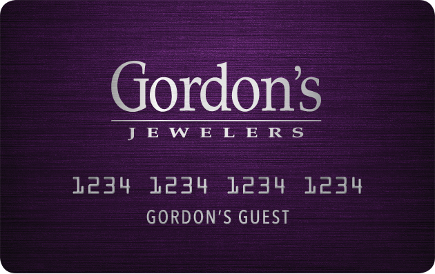 Gordon's Jewelers Credit Card image