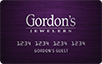 Gordon's Jewelers logo card