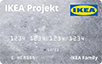 IKEA logo card