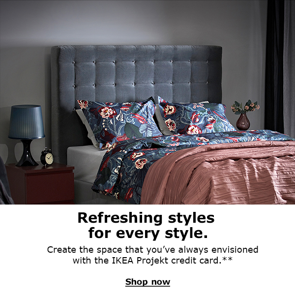 Click the Sign Up Now button to get more information on joining the Ikea Family loyalty program for free.