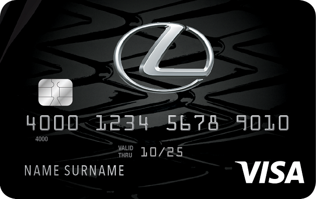 Lexus Pursuits Visa® image