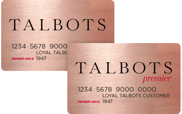 Talbots Credit Card image