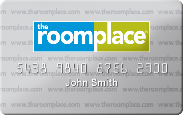 The RoomPlace Credit Card image
