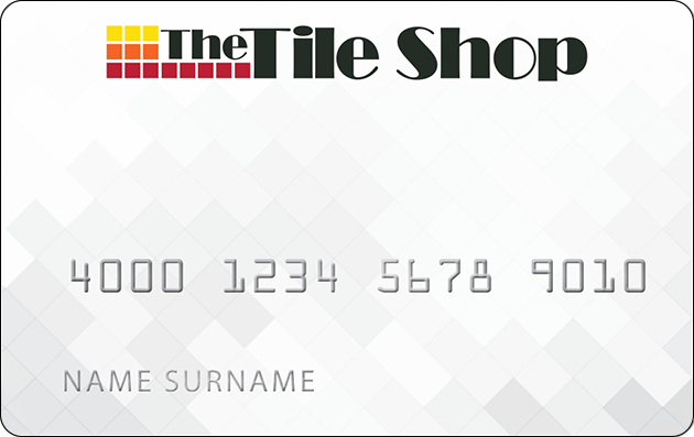 The Tile Shop Credit Card image