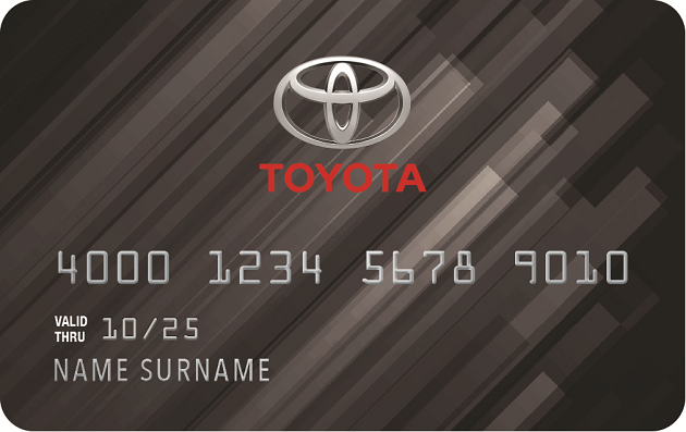 Toyota Credit Card card image