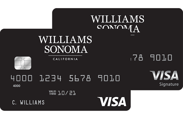 Williams Sonoma Visa Credit Card Benefits