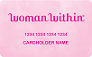 Woman Within logo card