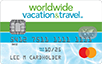 Worldwide Vacation & Travel logo card